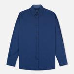 Мужская рубашка Hackett Garment Dyed Oxford Navy фото- 0
