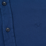 Мужская рубашка Hackett Garment Dyed Oxford Navy фото- 2