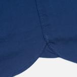 Мужская рубашка Hackett Garment Dyed Oxford Navy фото- 4