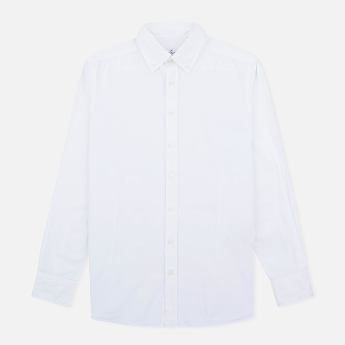 Мужская рубашка Hackett Garment Dyed Oxford White
