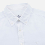 Мужская рубашка Hackett Garment Dyed Oxford White фото- 1