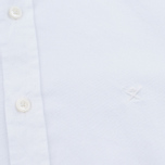 Мужская рубашка Hackett Garment Dyed Oxford White фото- 2