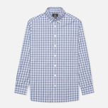 Мужская рубашка Hackett Gingham Check Navy/Blue фото- 0