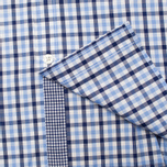 Мужская рубашка Hackett Gingham Check Navy/Blue фото- 3