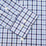 Мужская рубашка Hackett Gingham Check Navy/Blue фото- 2