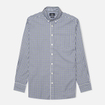 Мужская рубашка Hackett Gingham Check Navy/Green фото- 0