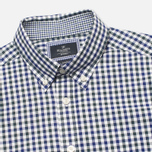 Мужская рубашка Hackett Gingham Check Navy/Green фото- 1