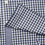 Мужская рубашка Hackett Gingham Check Navy/Green фото- 3