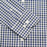 Мужская рубашка Hackett Gingham Check Navy/Green фото- 2
