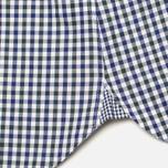 Мужская рубашка Hackett Gingham Check Navy/Green фото- 4