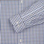 Мужская рубашка Hackett Hunters Gingham Navy/Brown фото- 3