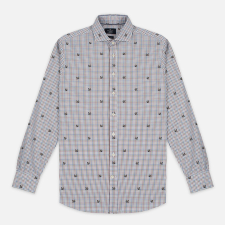 Мужская рубашка Hackett Hunting Check Multicolor