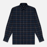 Мужская рубашка Hackett Large Plaid Grey/Multicolor фото- 0