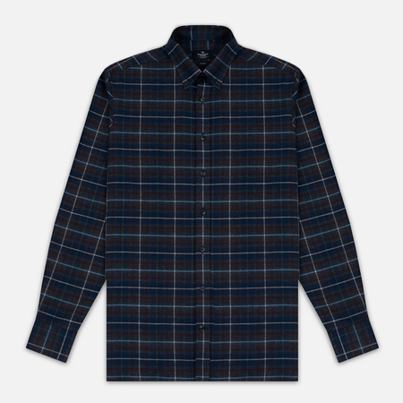 Hackett Large Plaid Men's Shirt Grey/Multicolor