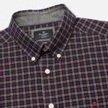 Мужская рубашка Hackett Multi Check Purple фото- 1