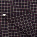 Мужская рубашка Hackett Multi Check Purple фото- 4