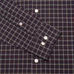 Мужская рубашка Hackett Multi Check Purple фото- 3