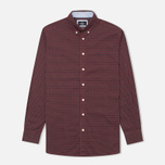 Hackett Multi Check Men's Shirt Red photo- 0