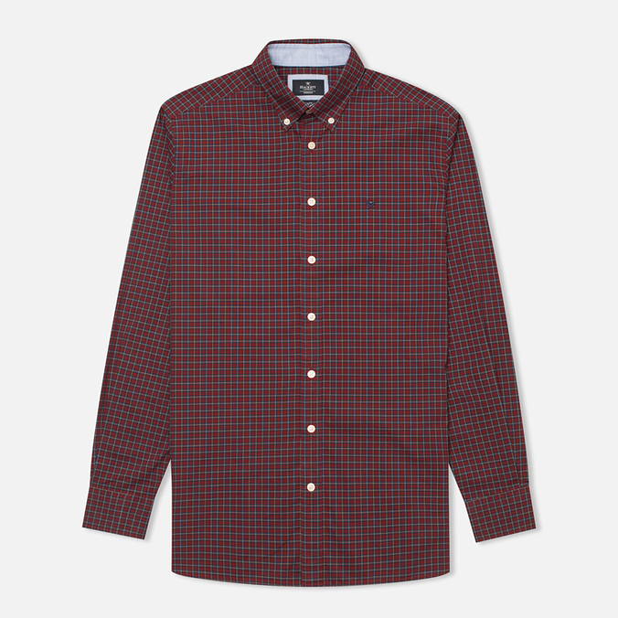 Hackett Multi Check Men's Shirt Red