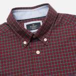 Hackett Multi Check Men's Shirt Red photo- 1