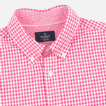 Мужская рубашка Hackett Multi Gingham Coral/Ecru фото- 1