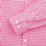 Мужская рубашка Hackett Multi Gingham Coral/Ecru фото- 3