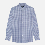 Мужская рубашка Hackett Multi Gingham Navy/White фото- 0