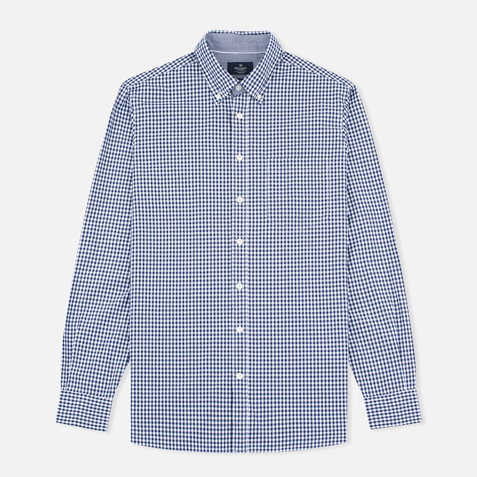 Мужская рубашка Hackett Multi Gingham Navy/White