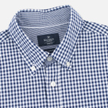 Мужская рубашка Hackett Multi Gingham Navy/White фото- 1