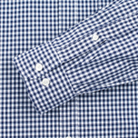 Мужская рубашка Hackett Multi Gingham Navy/White фото- 3