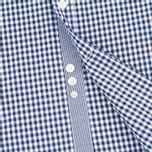 Мужская рубашка Hackett Multi Gingham Navy/White фото- 4