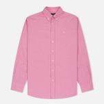 Мужская рубашка Hackett Oxford Logo Red фото- 0