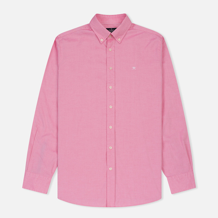 Мужская рубашка Hackett Oxford Logo Red