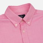 Мужская рубашка Hackett Oxford Logo Red фото- 1