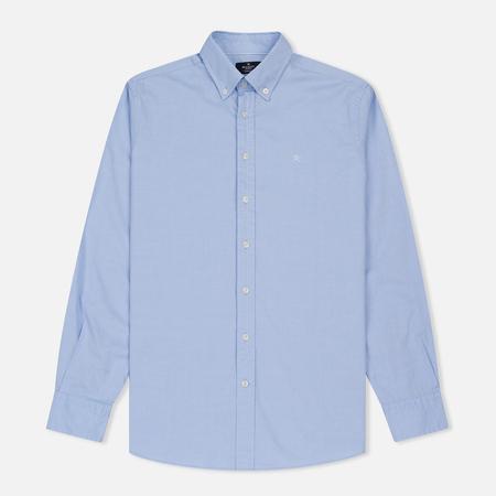 Мужская рубашка Hackett Oxford Logo Sky