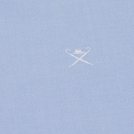 Мужская рубашка Hackett Oxford Logo Sky фото- 2