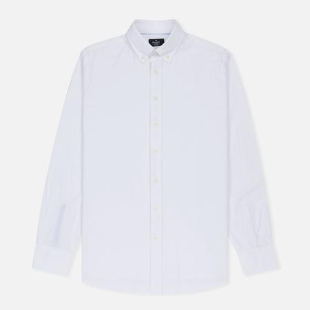 Мужская рубашка Hackett Oxford Logo White