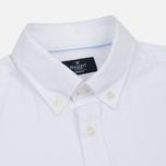 Мужская рубашка Hackett Oxford Logo White фото- 1