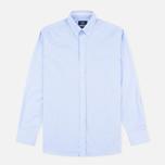 Мужская рубашка Hackett Oxford Selvedge Blue фото- 0