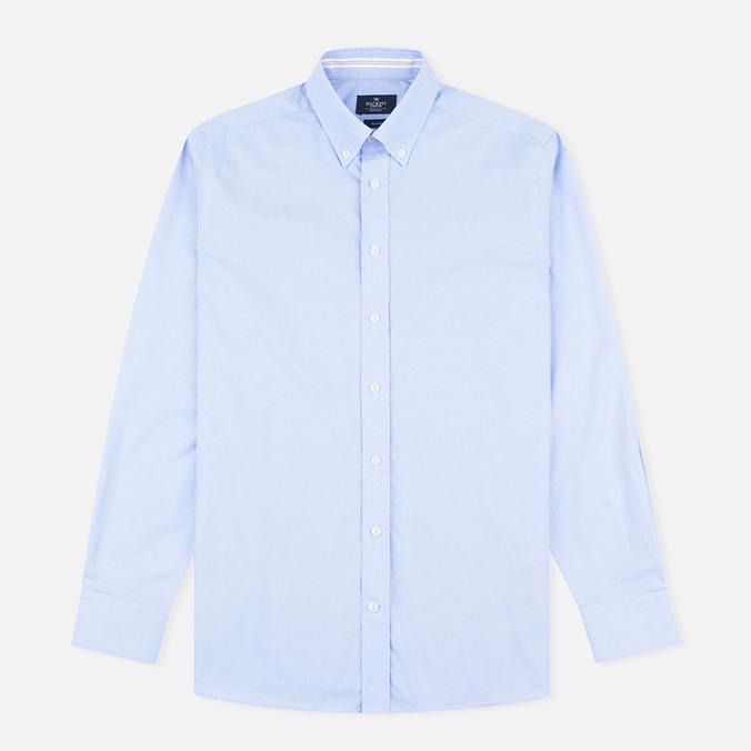 Мужская рубашка Hackett Oxford Selvedge Blue
