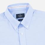 Мужская рубашка Hackett Oxford Selvedge Blue фото- 1