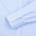 Мужская рубашка Hackett Oxford Selvedge Blue фото- 2