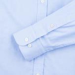 Hackett Oxford Selvedge Men's Shirt Blue photo- 2