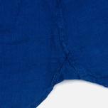 Мужская рубашка Hackett Plain Linen Navy фото- 3