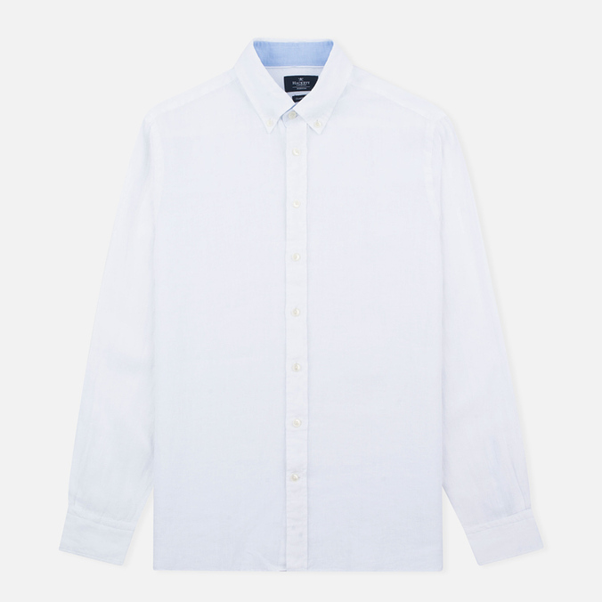 Мужская рубашка Hackett Plain Linen White