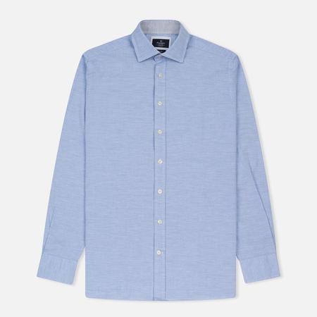 Мужская рубашка Hackett Plain Melange Sky