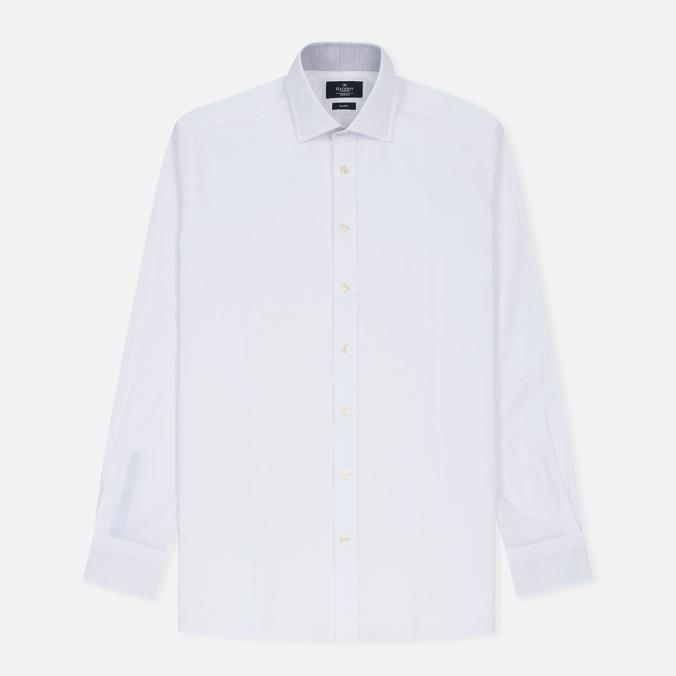 Мужская рубашка Hackett Plain Melange White