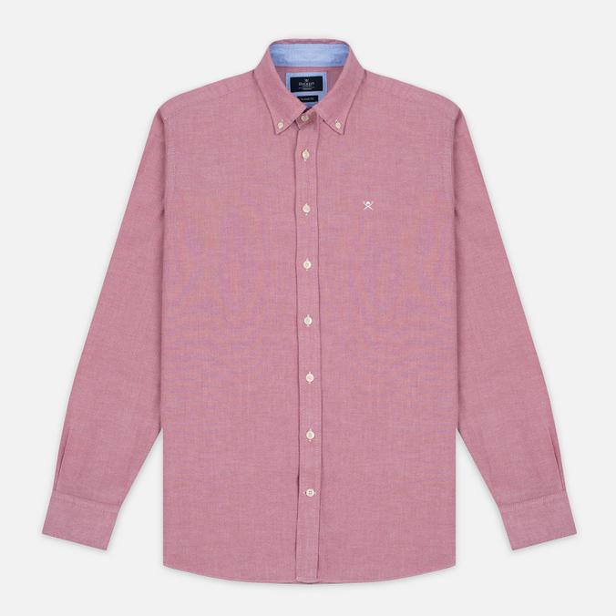Мужская рубашка Hackett Plain Oxford Berry