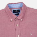 Мужская рубашка Hackett Plain Oxford Berry фото- 1