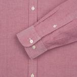Мужская рубашка Hackett Plain Oxford Berry фото- 3
